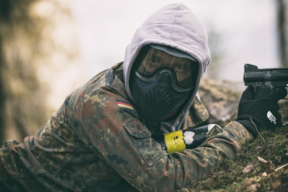 Paintball. Stok Za Groniem